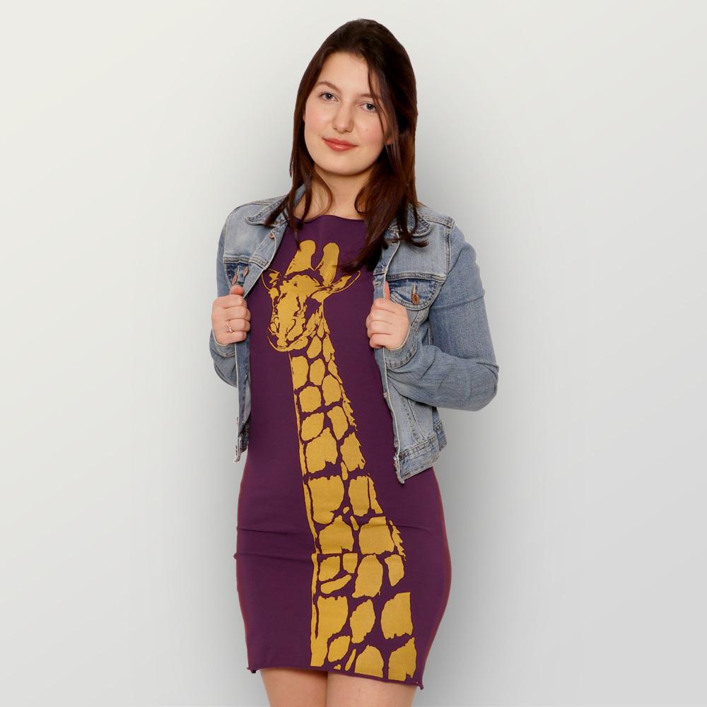 Bio-Kleidchen Stefanie la Girafe