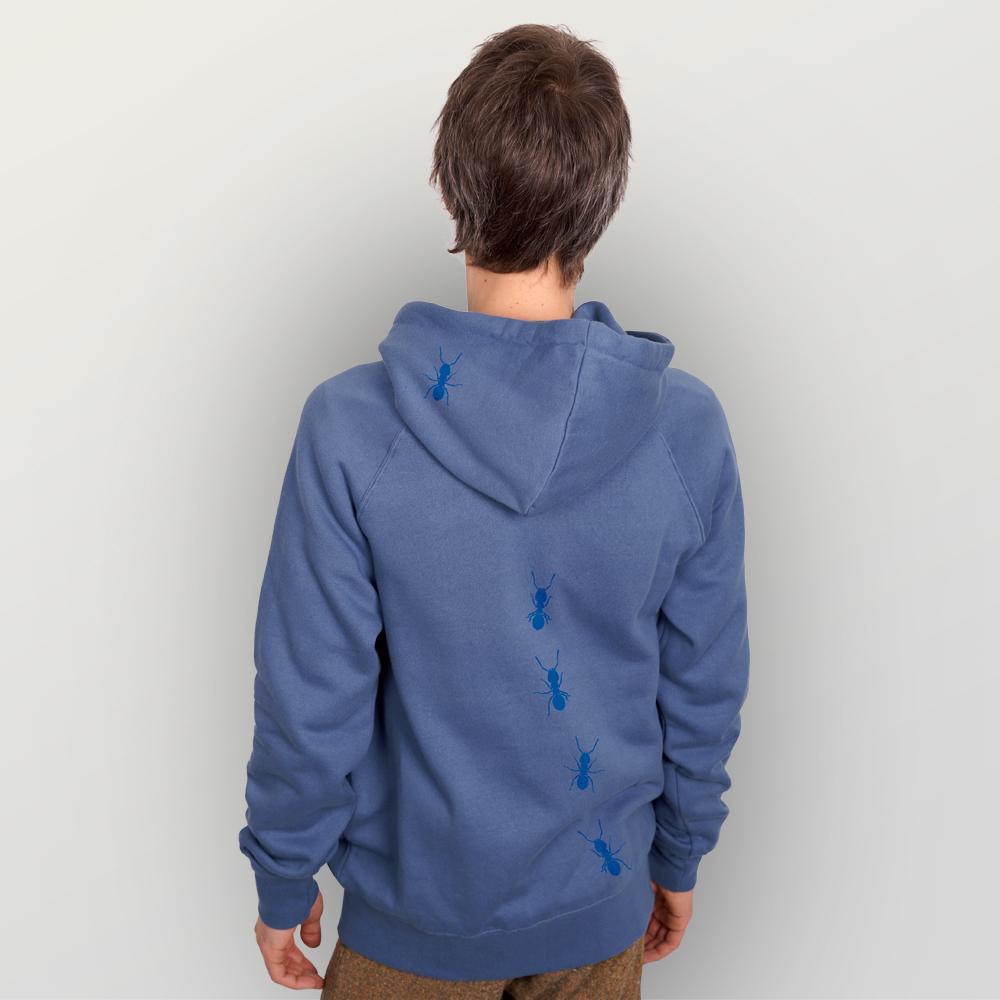 Unisex Zip-Hoody Ameisen