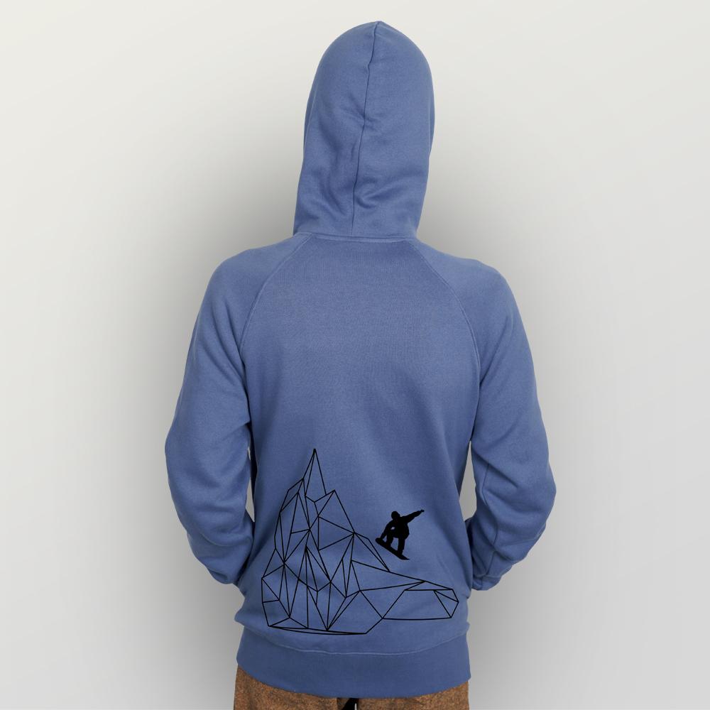 Unisex Zip-Hoody Origami Piste