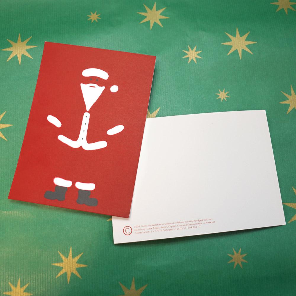 Weihnachtskarte Versteckchen